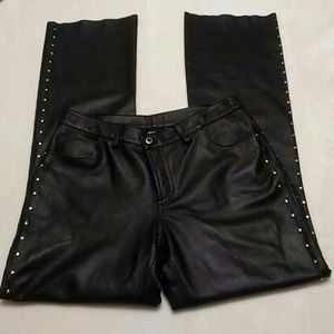 Harley-Davidson Riveted Leather Pants